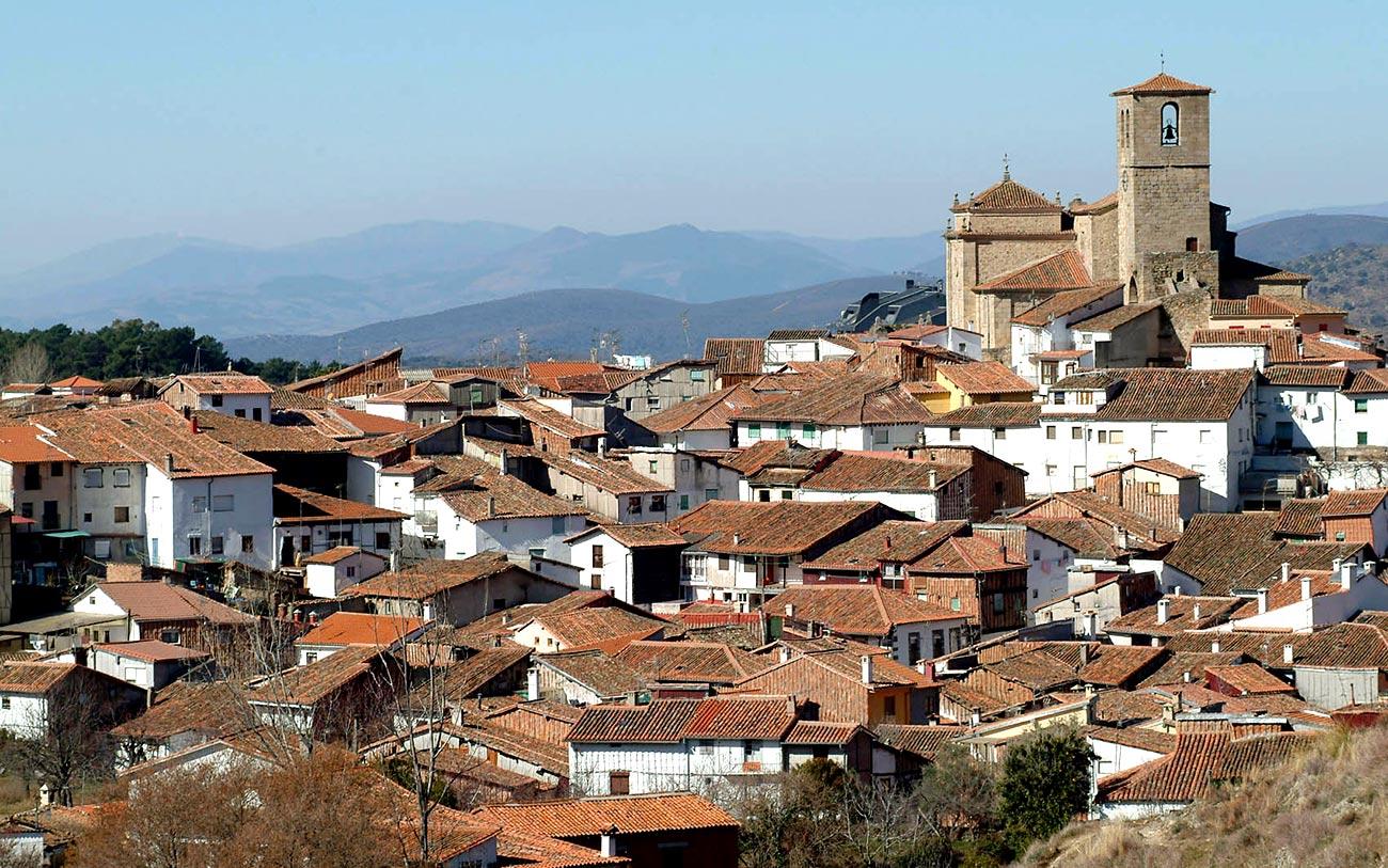Hervás, en el Valle del Ambroz.